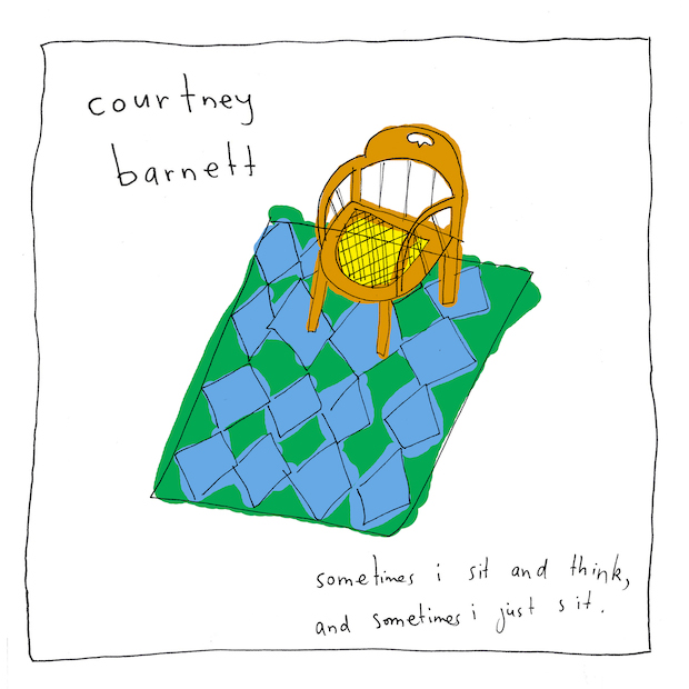 album review // Courtney Barnett 'Sometimes I Sit and Think, and Sometimes I Just Sit' | slatethedisco.com